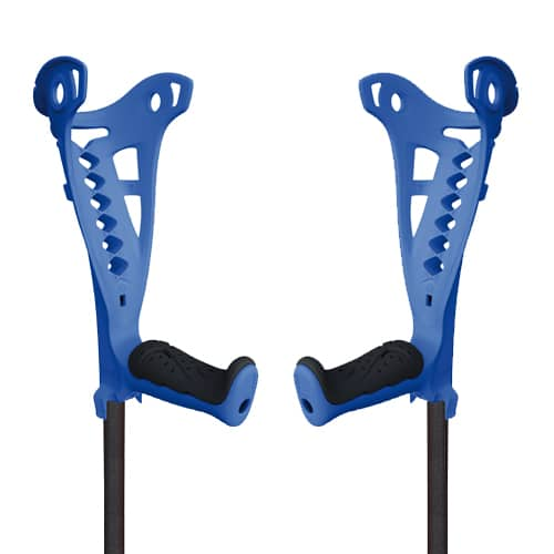 Muletas Access Comfort Azules