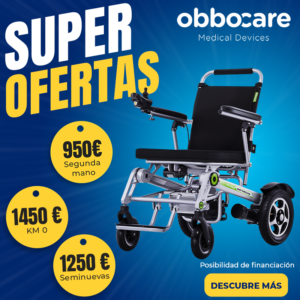 H3S Ofertas sillas de ruedas eléctricas