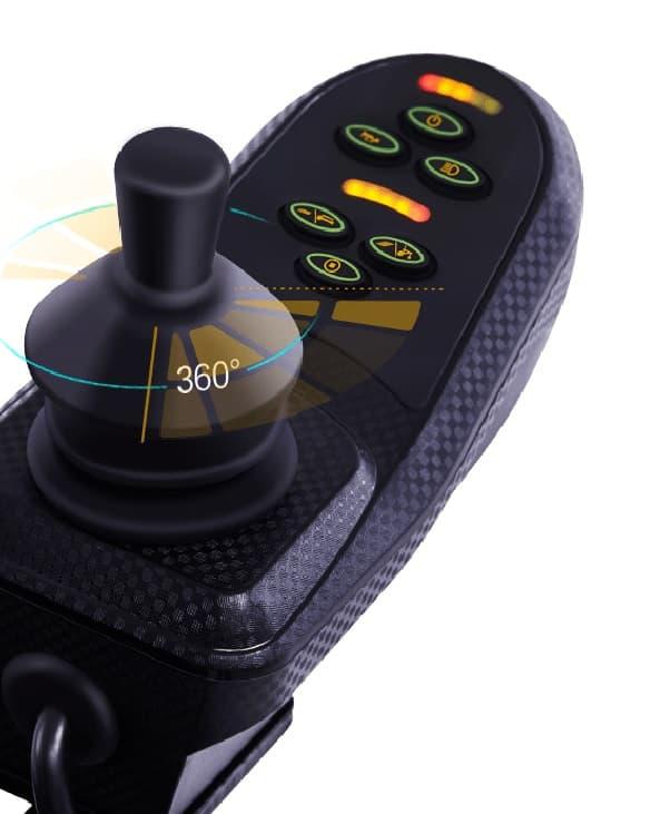 joystick silla de ruedas electrica Obbocare