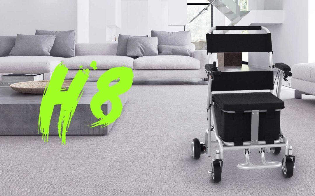 Cinco razones para comprar la silla de ruedas eléctrica Airwheel H8