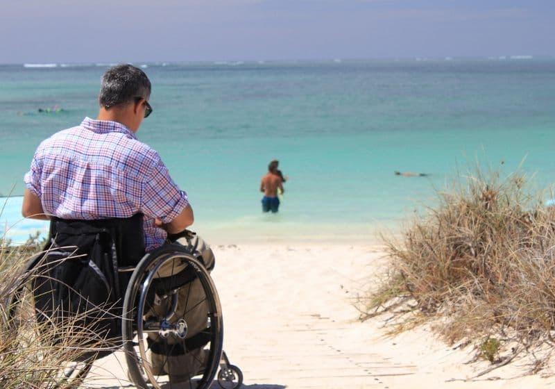 Rampas portátiles para silla de ruedas: tipos y características