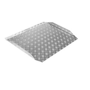 Rampa aluminio reforzada antideslizante