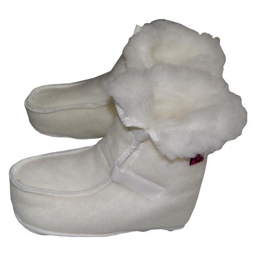 Botín Sanitized Blanco