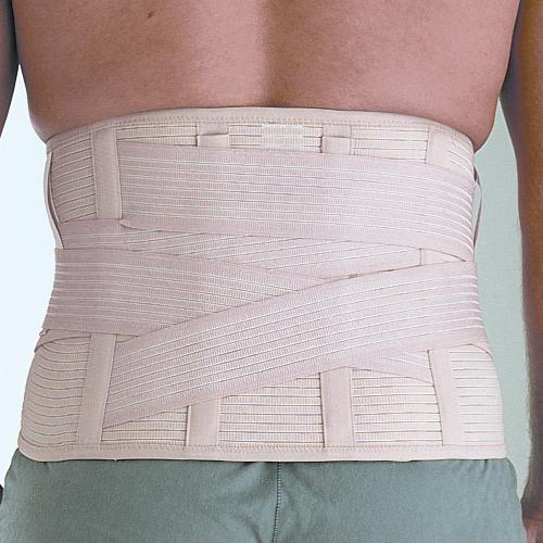 Faja sacrolumbar reforzada (imagen trasera)