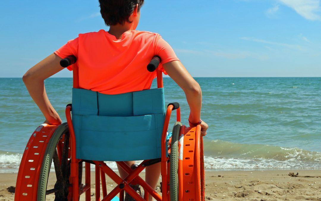 ¿Cansado de sudar en tu silla de ruedas?