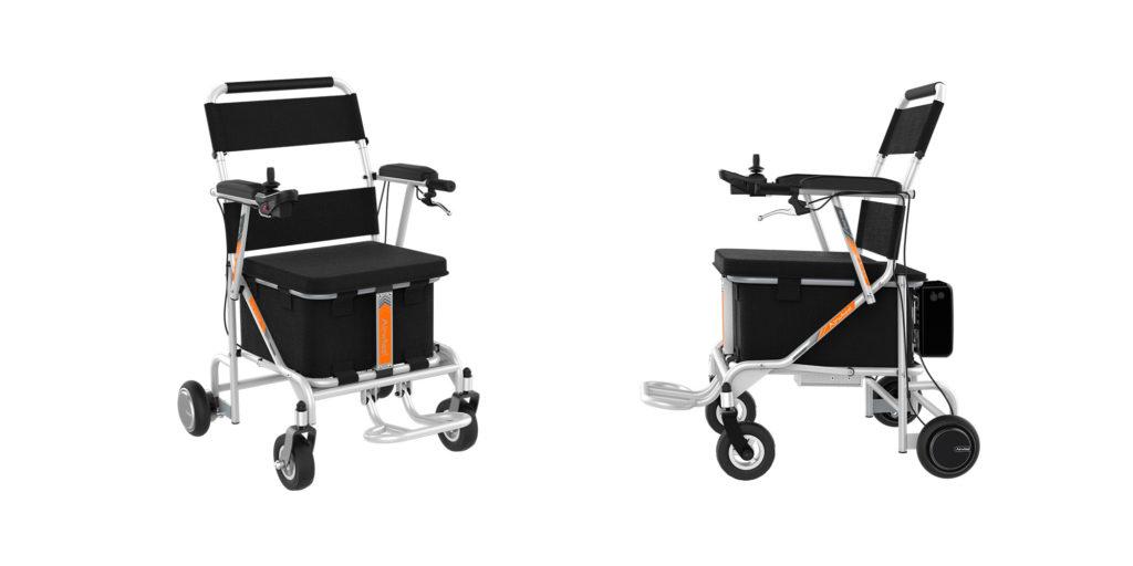Silla de Ruedas Airwheel H8 ideal para residencias de mayores