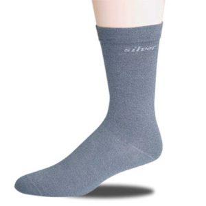 calcetín de plata