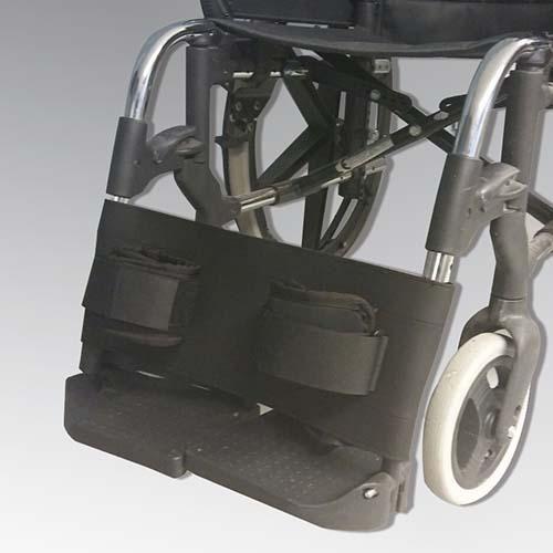banda de contención silla de ruedas con sujeción de tobillos
