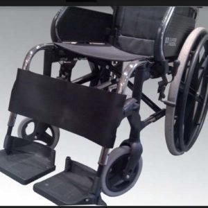 Banda de contención para silla de ruedas
