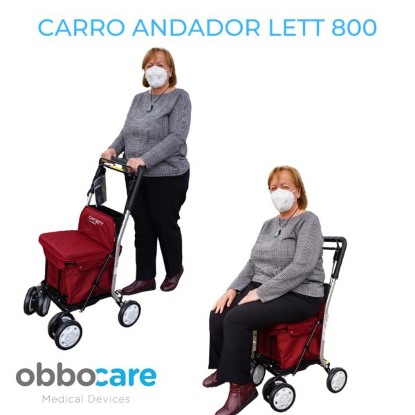 CARRO ANDADOR LETT 800