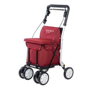 Carrito de la compra andador Lett 800 rojo
