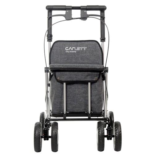 Carro de la Compra Andador Lett900 negro frontal