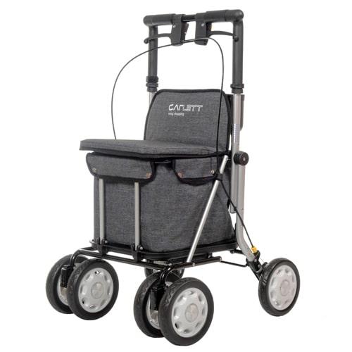 Carro de la compra andador LETT900 gris