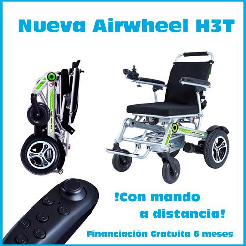 La silla de ruedas eléctrica con mando a distancia