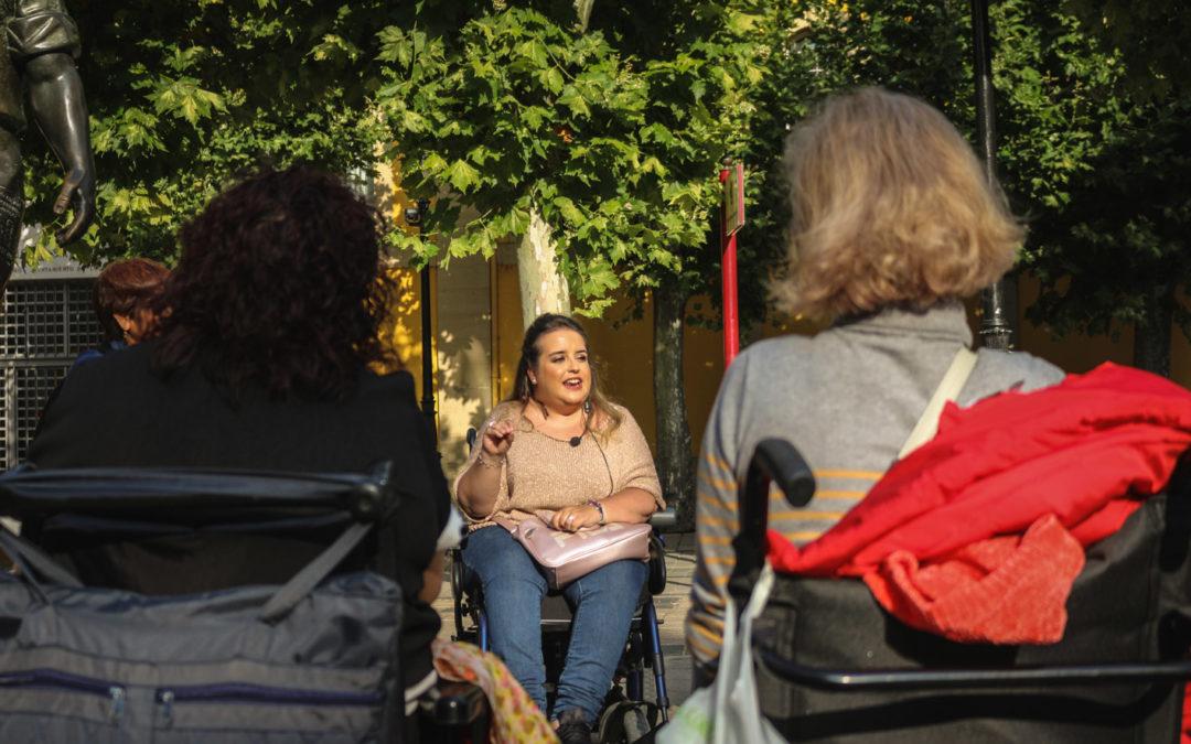 Rebeca, guía turística en La Rioja