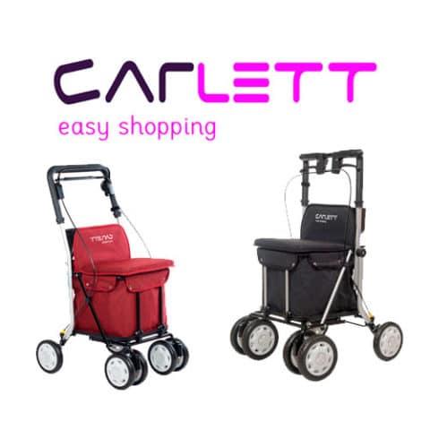 Carrito Carlett para realizar la compra diaria