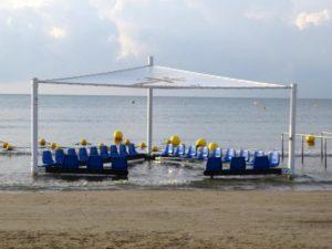 zona baño playa accesible