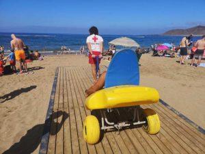asistencia playa accesible