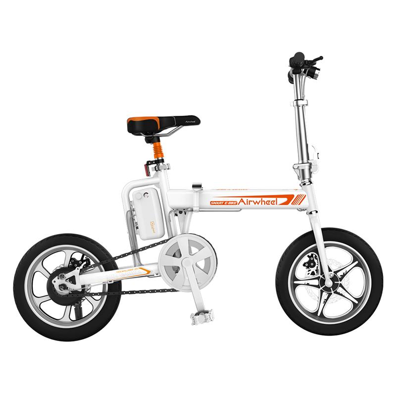 bici electrica blanca r5