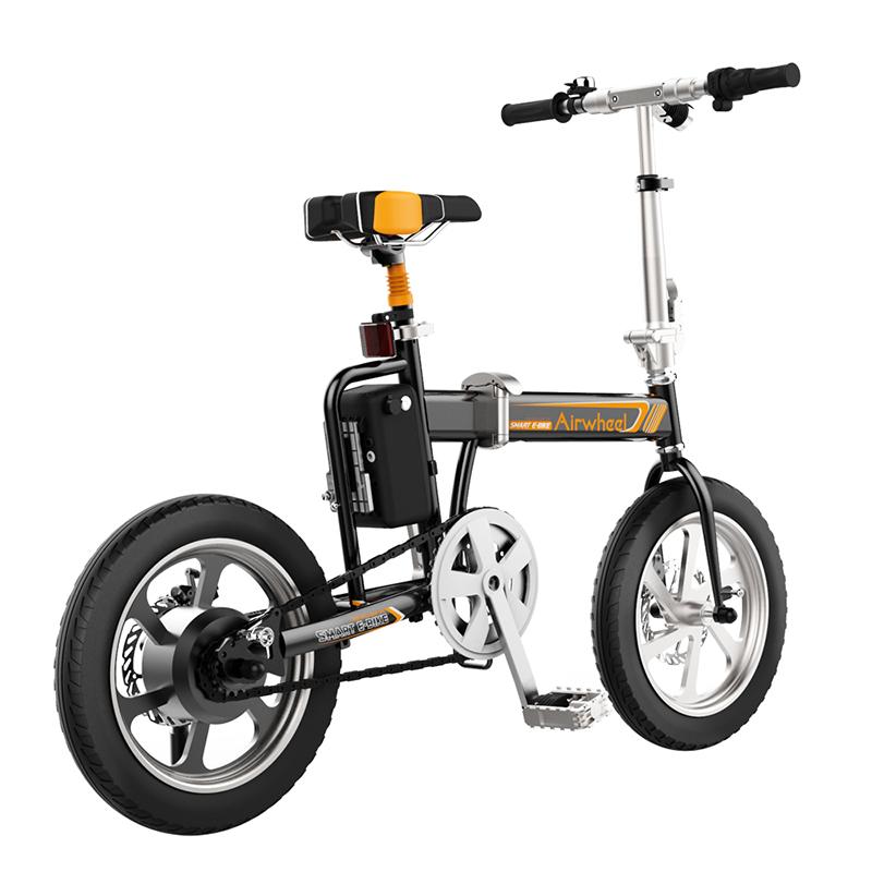 bici electrica negra r5