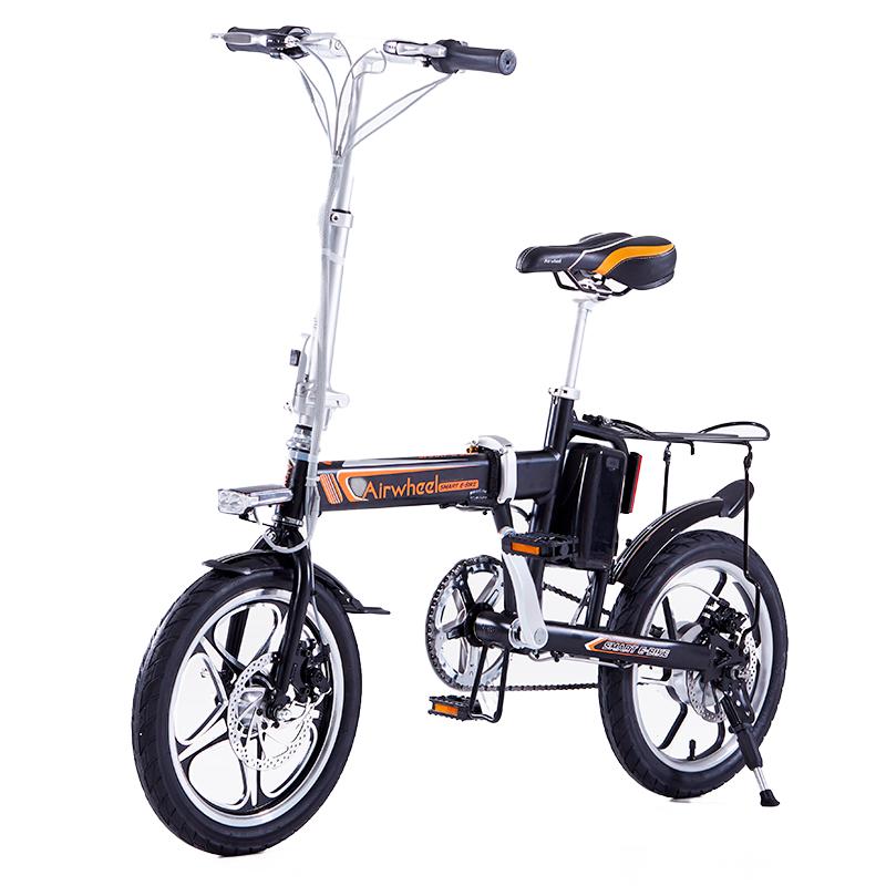 bicileta r5 electrica negra