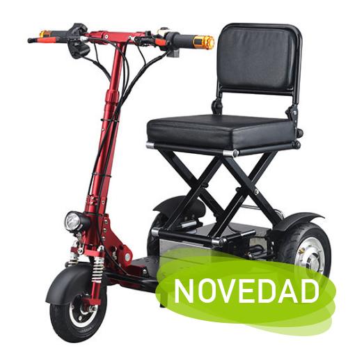 NOVEDAD! OBBOCARE 204 Scooter de movilidad reducida plegable.