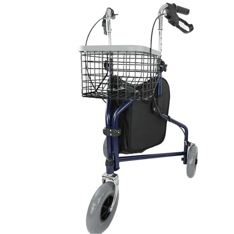 Andador plegable 3 ruedas